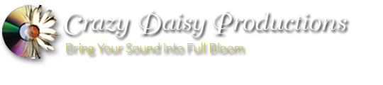 Crazy Daisy Productions CD mastering and audio services.