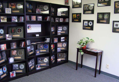 photo of Crazy Daisy Productions mastering studio entryway